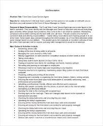 Hotel Desk Clerk Job Description Front Desk Clerk Job Description Resume