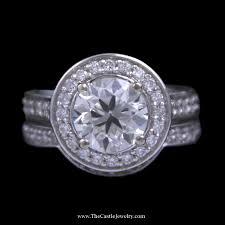 wedding sets wedding sets the castle jewelry