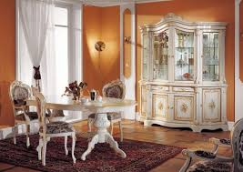 Stylish Charming Traditional Dining Room Decoration Idea With - Classic italian furniture