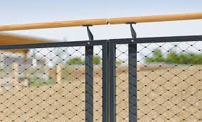 ringhiera metallica ringhiera in acciaio inox in rete metallica da esterno per