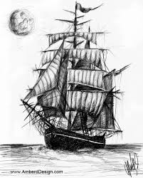 sketches for ghost pirate ship sketches www sketchesxo com