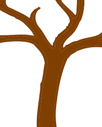 brown tree stem of a tree clipart clipartxtras