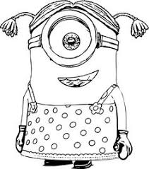 minion coloring ideas