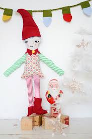 sewing patterns christmas elf merry elf doll by cakies doll making tutorials video s patterns