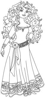 Brave Coloring Pages Pdf Free Coloring Pinterest Pdf Disney Brave Coloring Pages