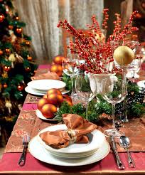 nice christmas table decorations 11 christmas dinner table ideas youne