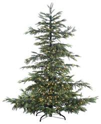 silk plants direct noble fir tree pack of 1 traditional