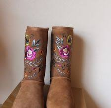 womens boots size 11 ebay ugg australia womens boots juliette chestnut size 11 ebay