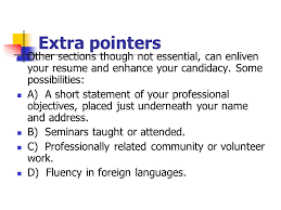 professional objectives what is next in your future ppt download