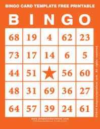 bingo card template free printable 2 bingo card template free