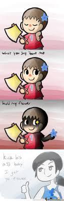 Hold My Flower Meme - the seal is broken rape mode activate by recyclebin meme center
