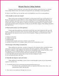 Adding Internship To Resume 11 College Student Resume Template 20 Saneme