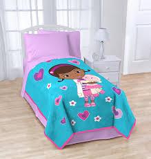Doc Mcstuffins Toddler Bed Set Disney Junior Doc Mcstuffins Blanket Home Kitchen