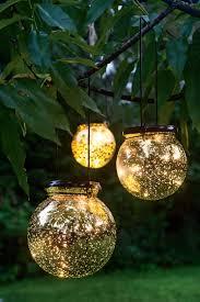 solar globe lights fairy dust ball gardeners com outdoor