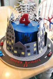 number 5 spiderman cake cakes and decorates pinterest