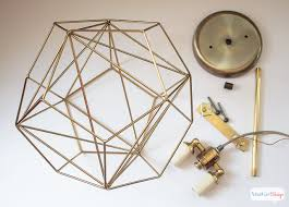 diy light pendant diy geometric globe pendant light atta says