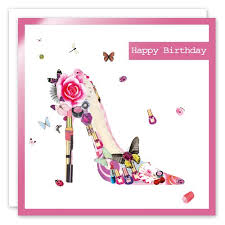 birthday cards with shoes happy birthday shoe greeting card make up collection by real