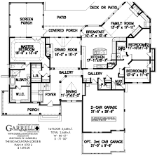house plans ranch big mountain lodge b house plan house plans by garrell