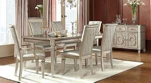 transitional dining room sets 5 pc living room set dining room sets silver mirror 5 home furniture