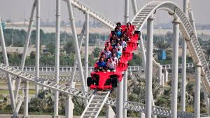 in abu dhabi roller coaster abu dhabi the s largest indoor theme park