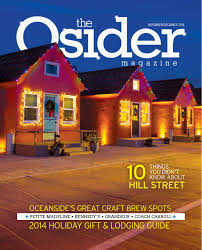 the osider magazine volume 1 issue 4 november december 2014