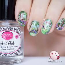 piggieluv gazebo garden nail art