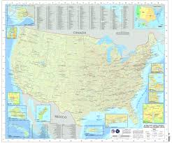 United States Map Poster by Map Of Military Installations Ranges U0026 Training Areas In The