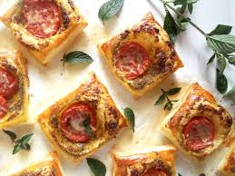 puff pastry canape ideas puff pastry and mint pesto nibbles