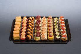 canapes aperitif plateau de canapés salés apéritif les plateaux et assortiments