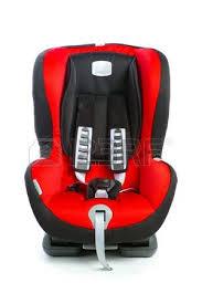siège auto pour bébé siège enfant siège bébé isolé sur fond blanc avec chemin de