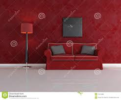 Red And Black Living Room by Red And Black Living Room Royalty Free Stock Photo Image 11079485