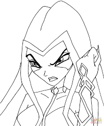 winx club trix coloring pages free coloring pages