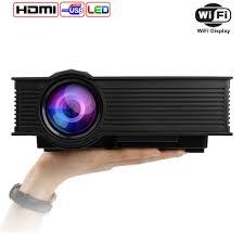 led lights for home theater amazon com mileagea led projector mini portable multimedia 1080p