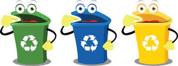imagenes animadas sobre el reciclaje papelera de reciclaje segregación stock de ilustración