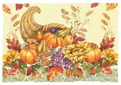 thanksgiving paper placemats autumn my paper shop
