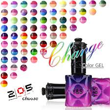 perfect match colors y s 15ml temperature color changing gel nail polish uv soak off