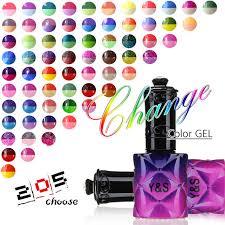 perfect match colors y s 15ml temperature color changing gel nail polish uv soak off nail