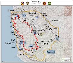 Map Of California Fires 7 28 16 Soberness Fire Maps Big Sur California