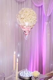 lavender martini martini vase with rose ball beyond expectations weddings u0026 events