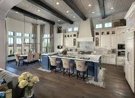 open floor plan kitchen designs open floor plan kitchen and living room residence by custom homes