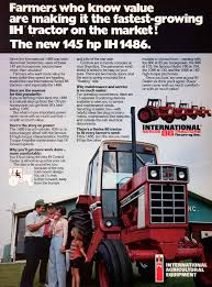 1977 ad international harvester agricultural equipment tractor 86