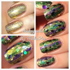 mardi gras nail ehmkay nails mardi gras stripes for tuesday