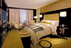 dans la chambre d hotel chambre à coucher inspirée par l ambiance hôtel design feria