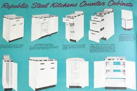 Vintage Metal Kitchen Cabinet Enamel Painted Home by Find Of The Year U2013 Youngstown Steel Kitchen Cabinets