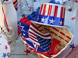 Fourth Of July Table Decoration Ideas Frugal Patriotic Table Decor Ideas Memorial Day And 4th Of July
