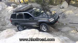 jeep cherokee stinger bumper hk offroad winch bumper durability test jeep grand cherokee wj
