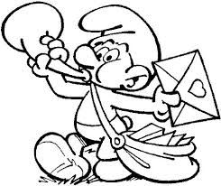 299 smurfs coloring pages images