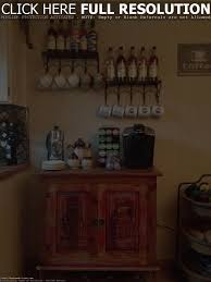 best coffee bar for kitchen baytownkitchen stunning with wall