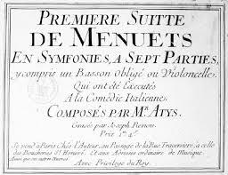 dur du si e d al ia atys six sonates en duo œuvre iv 1760 clef facile et méthodique
