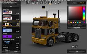 kenworth k100 kenworth k100 v3 truck euro truck simulator 2 mods